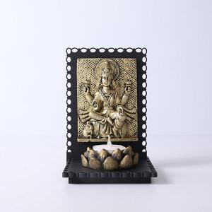 Maa Laxmi Idol T Light Holder - Online Home Decor Items