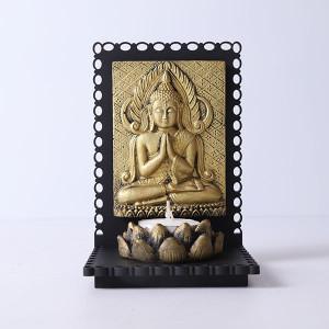 Serene Buddha T Light Holder - Online Home Decor Items