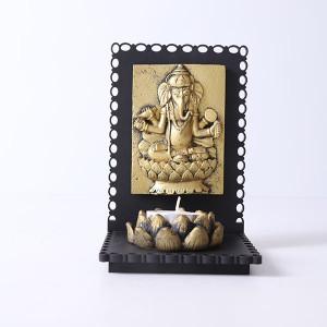 Lord Ganesha T Light Holder - Online Home Decor Items