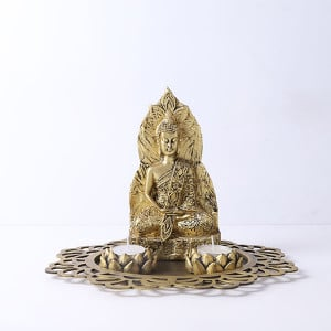 Decorative Sitting Buddha - Online Home Decor Items
