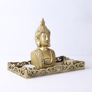 Decorative Buddha God Head Gift Set - Online Home Decor Items