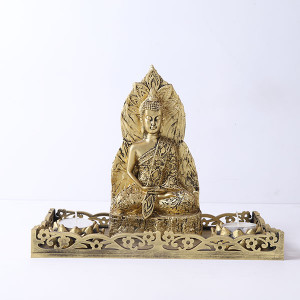 Antique Meditating Buddha Gift Set - Online Home Decor Items