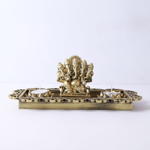 Antique Panchmukhi Ganesha Gift Set - Online Home Decor Items