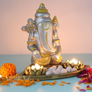 Cute Ganesha Gift Set - Online Home Decor Items