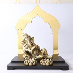 Reading Ganesha Showpiece - Online Home Decor Items