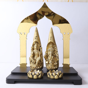 Laxmi Ganesh Showpiece - Online Home Decor Items