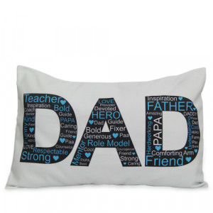 Dad Pillow Cover - Personalised Photo Gifts Online