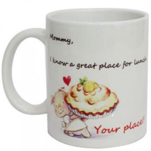Cute Mom Ceramic Mug - Mugs