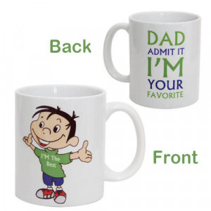 Dad Favorite Ceramic Mug - Mugs