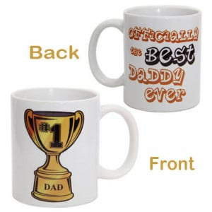 Champ Mug For Dad with Ceramic Material - Mugs