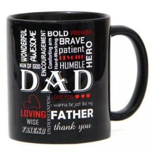 Bold Black Ceramic Mug - Mugs