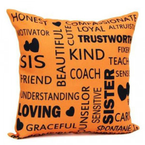 Cushion For Sister - Cushion