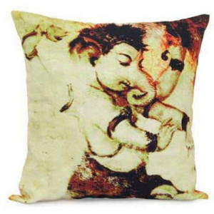 Abstract Ganesha Cushion - Cushion