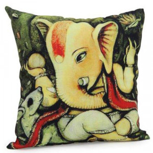 Lord Ganesha Cushion - Cushion