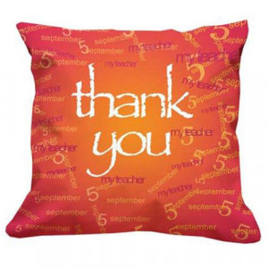 Thank You Teacher Cushion - Cushion