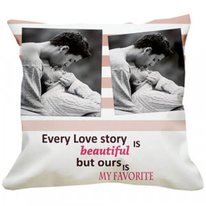 Favourite Love Story Cushion - Cushion