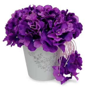 Purple Flower Bunch - Online Gifts