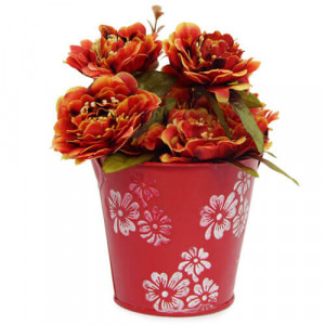 Artificial Flower Bucket - Online Gifts