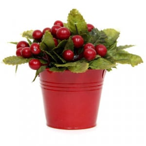 Artificial Cherry Arrangement - Online Gifts