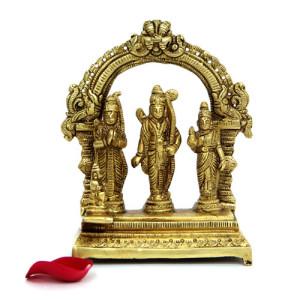 Ram Darbar Brass Idol - Online Home Decor Items