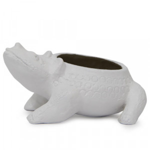 Lovely White Planter - Online Gifts