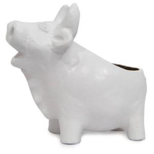 White Pig Planter - Online Gift Ideas