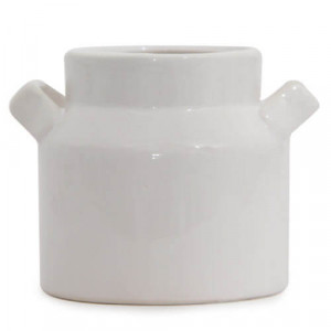 White Vase Planter - Online Gifts
