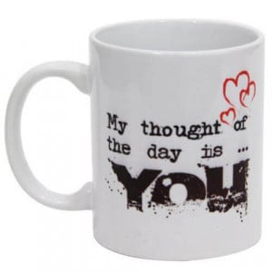 Thoughtful Love Ceramic Mug - Mugs