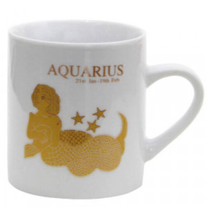 Aquarius Sunsign Ceramic Mug - Mugs