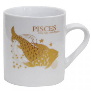Mug For Piscean with Ceramic Material - Mugs