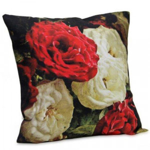 Floral Printed Cushion - Cushion