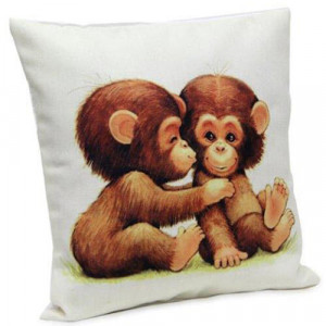Monkey Cushion - Cushion