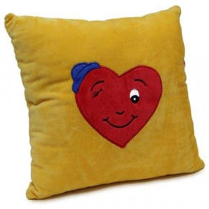 Winky Heart Cushion - Cushion