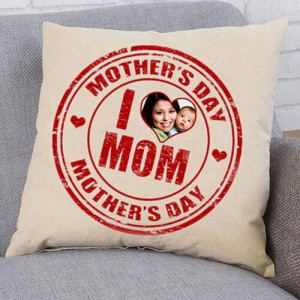 Love Mom Personalize Cushion - Cushion