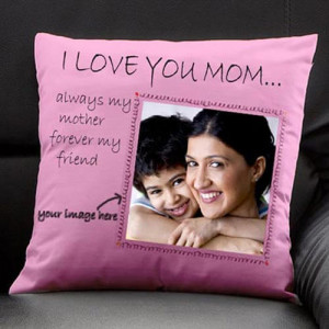 Personalize Cushion For Maa - Cushion
