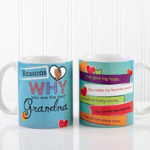 Personalize Mug For Granny - Mugs