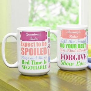 Mug For Mom N Grandma - Mugs
