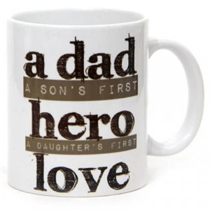 My Dad My Hero Ceramic Mug - Mugs