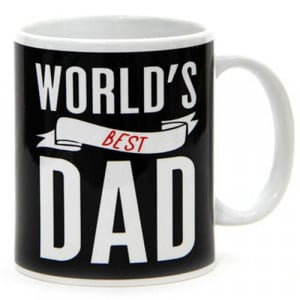 Worlds Best Dad Ceramic Mug - Mugs