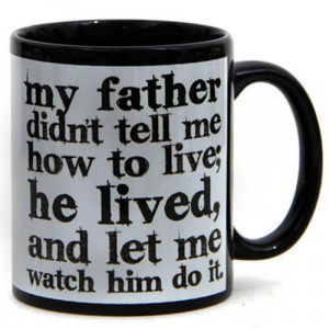 Dad My Idol Ceramic Mug - Mugs