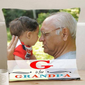Personalize Grandpa Cushion - Cushion