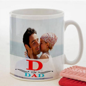 Personalize White Mug For Dad - Mugs