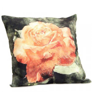 Abstract Flower Cushion - Cushion