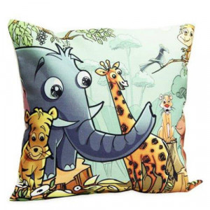 Animal Art Cushion - Cushion