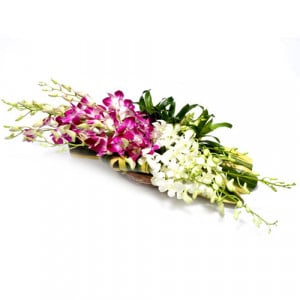 Love and Prayers - Flower Basket Arrangements Online