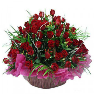 Pure Compassion - Flower Basket Arrangements Online