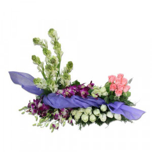 Made for each Other - Flower Basket Arrangements Online