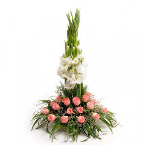 Passion - Flower Basket Arrangements Online