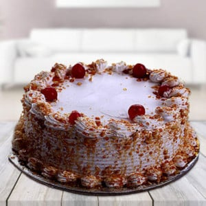 Butter Scotch Cake - Online Cake Delivery In Dera Bassi