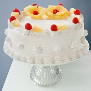 Five Star - Pineapple Cake 1 Kg - 1st Birthday Cakes